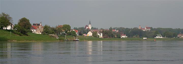 Paddeln Auf Der Elbe Km 107 220